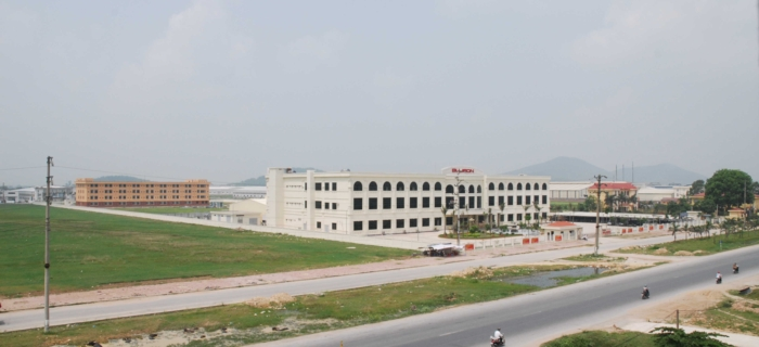 Constructing the 3rd Factory - Bujeon Electronics Viet Nam Co., Ltd
